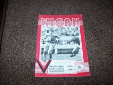 Wigan v Leigh, 1984/85